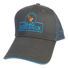 Frisco Rod & Gun Cap Black Blue Mesh