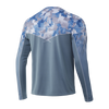 HUK H1200288 Icon X Refraction Fade Performance Shirt Ice Boat - Back