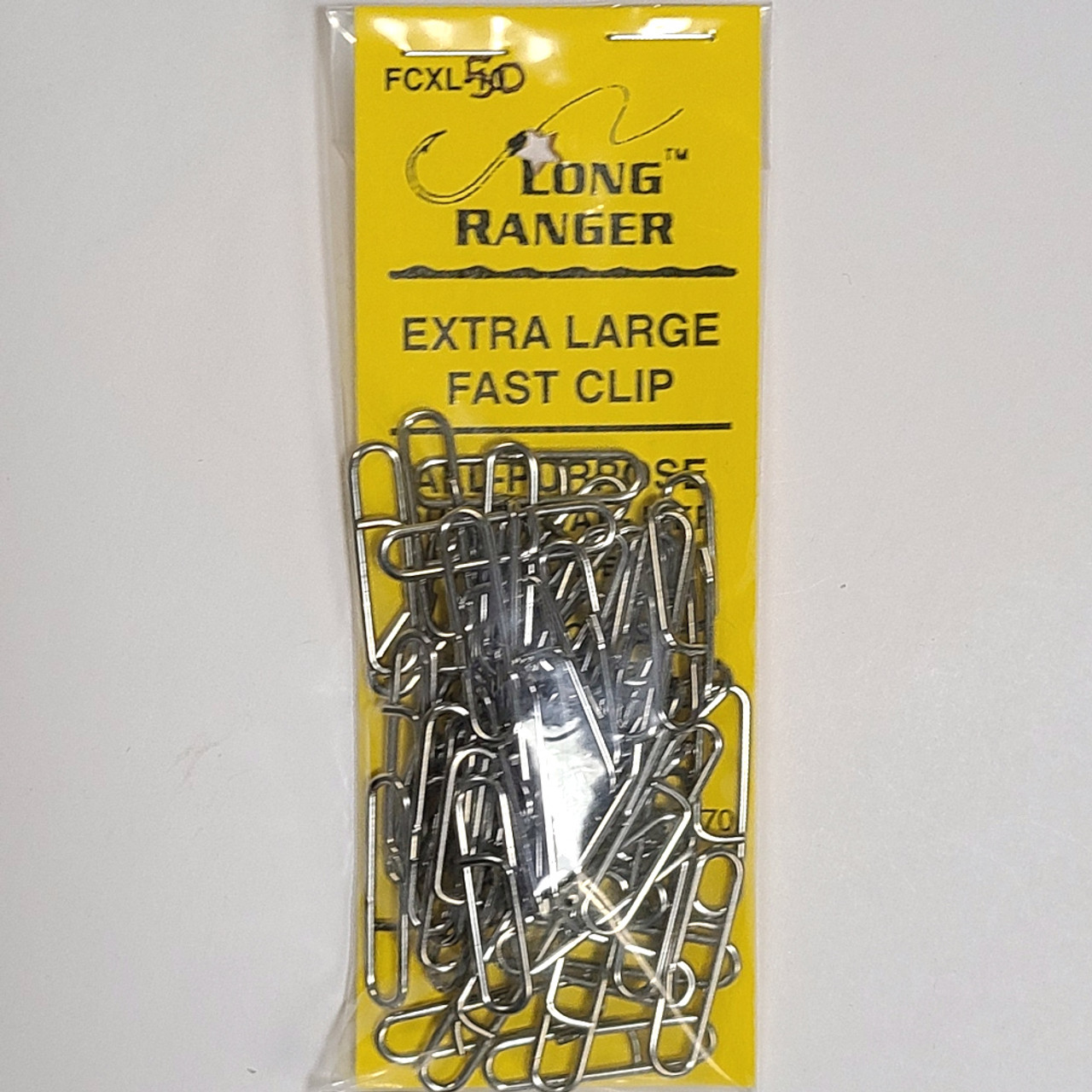 One More Cast - Extra Large Fast Clips 50 Pack