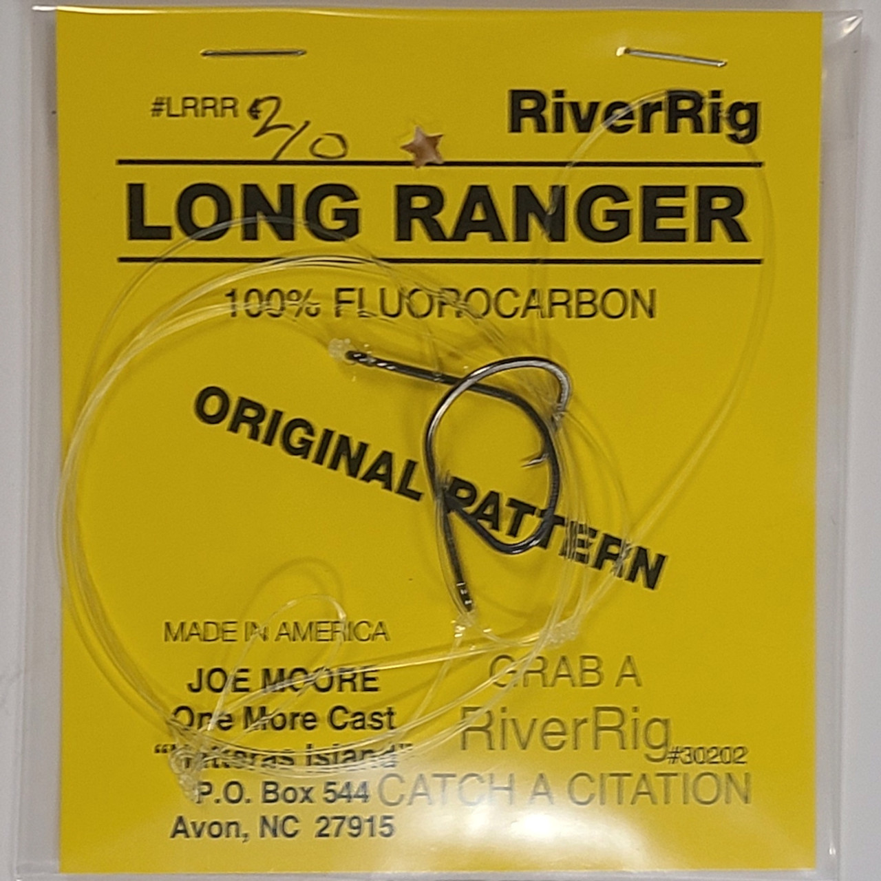 One More Cast - Long Ranger River Rig 2/0 Circle