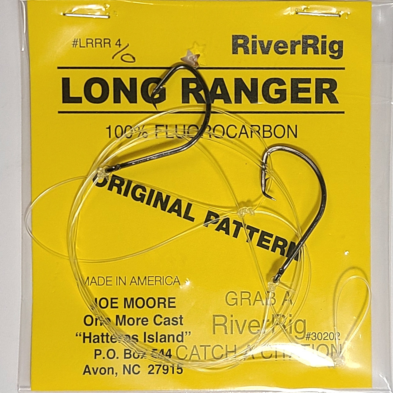 One More Cast - Long Ranger River Rig 4/0 Circle