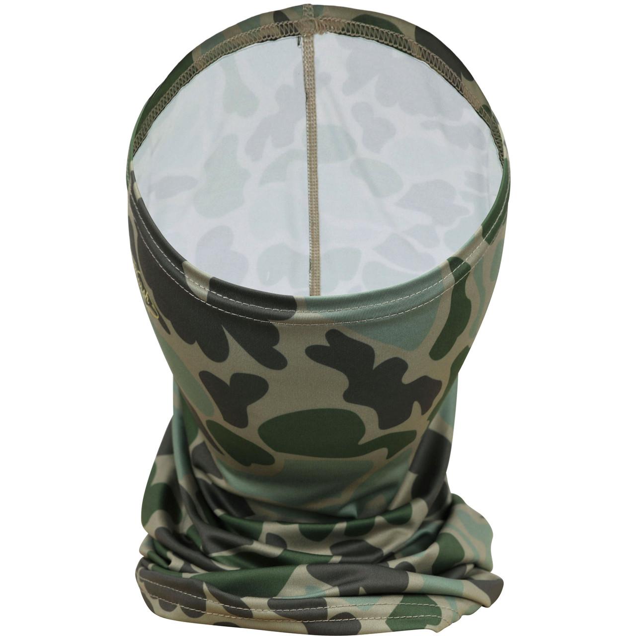 Marsh Wear MWSM05 Mallard Face Mask Green Camo - Front