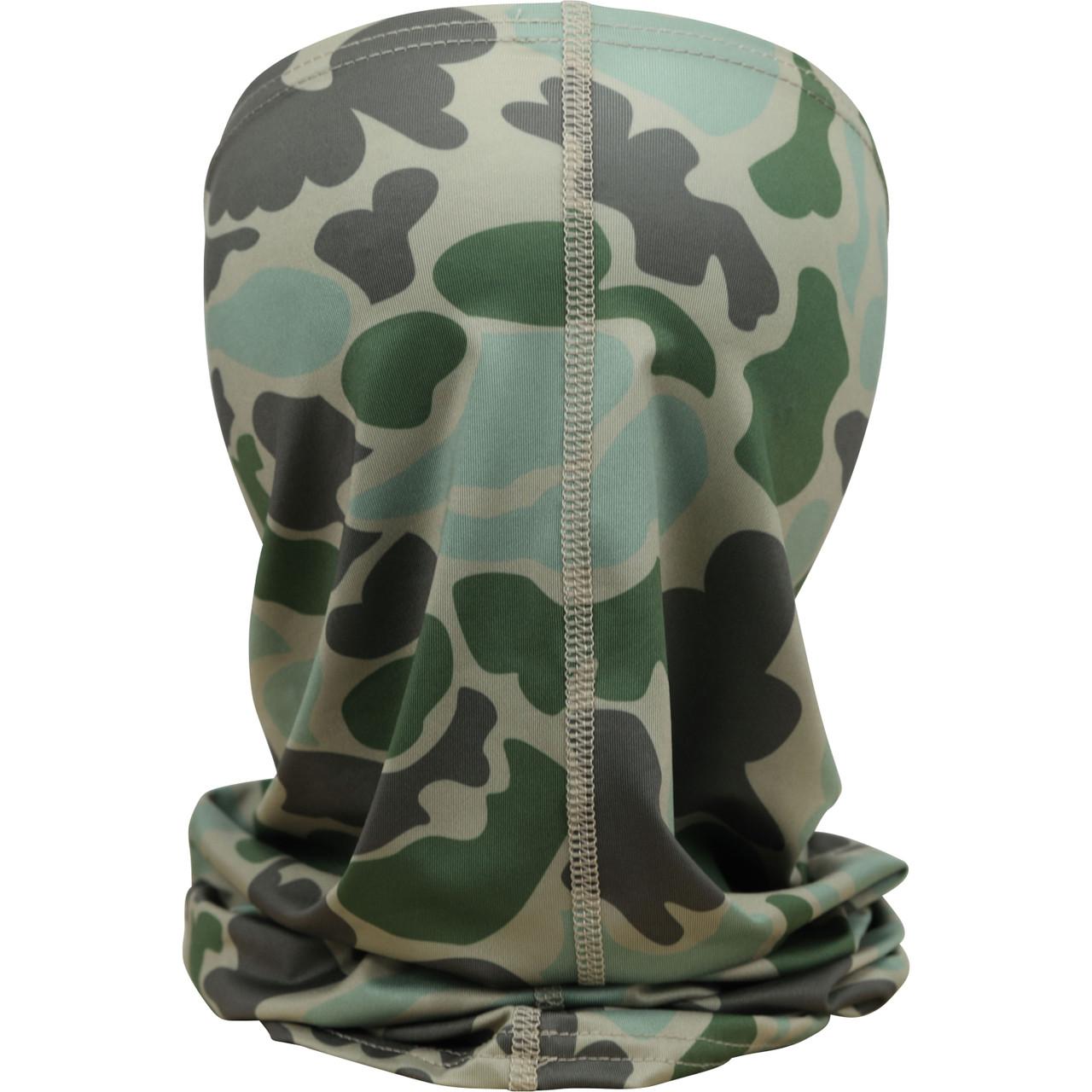 Marsh Wear MWSM05 Mallard Face Mask Green Camo - Back