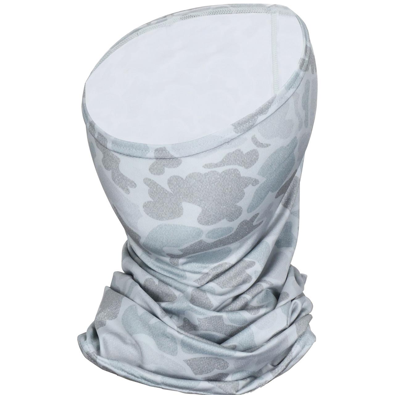 Marsh Wear MWSM05 Mallard Face Mask Grey Camo - Angle