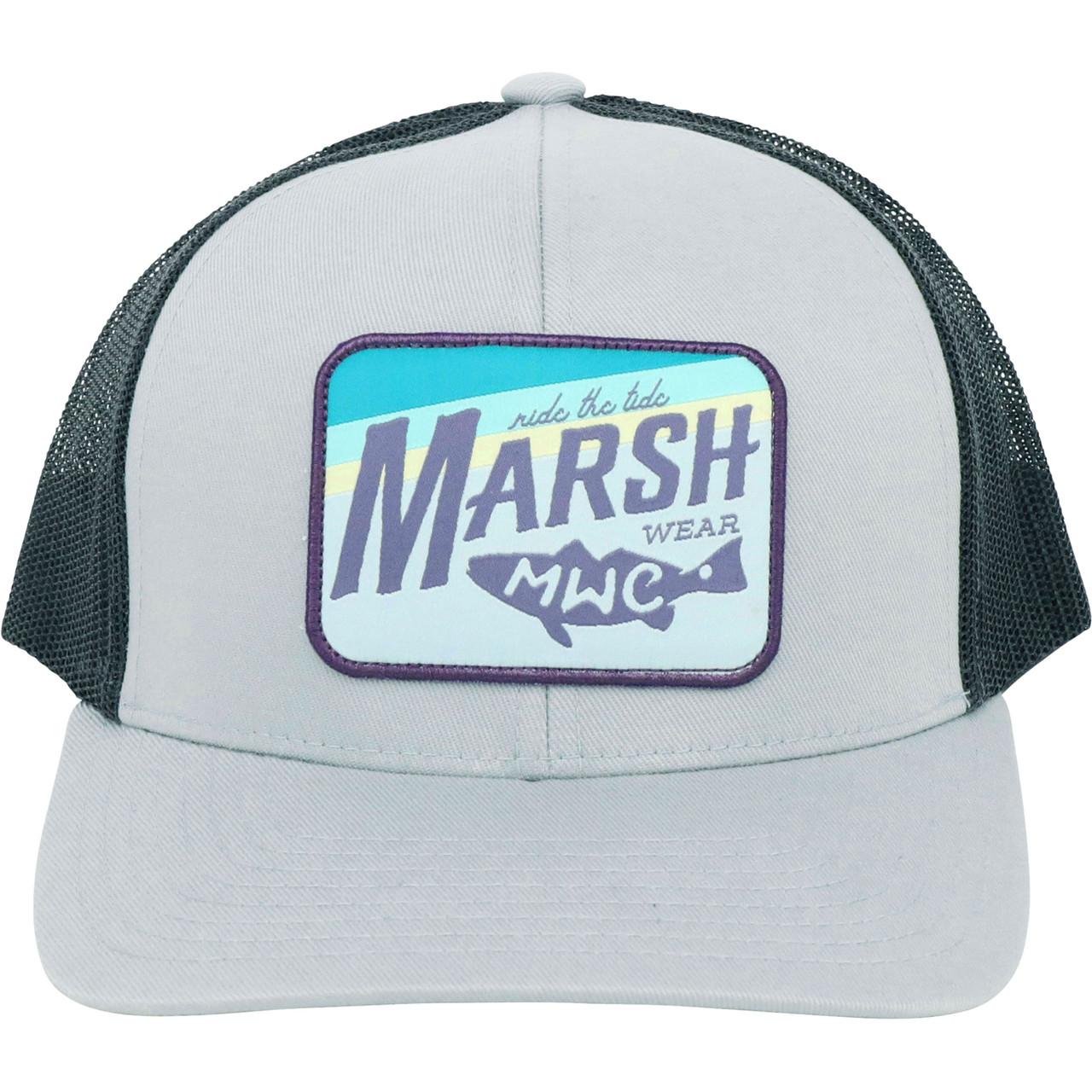 Marsh Wear MWC1036 Sunset Marsh Hat Cloud Grey - Front