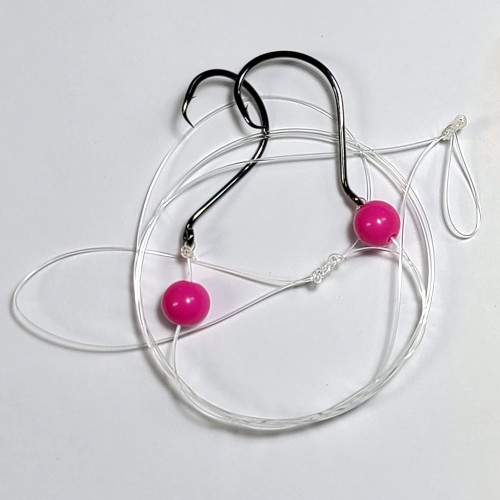 4/0 River Rig w/Pink Beads