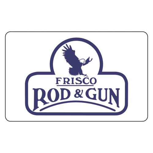 Frisco Rod & Gun Gift Card - Front