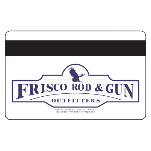 Frisco Rod & Gun Gift Card - Back