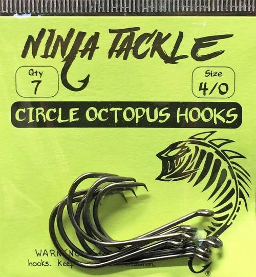 Ninja Tackle 4/0 Circle Octopus Offset Hook