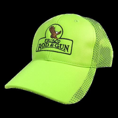 Frisco Rod & Gun Cap Lime Grey