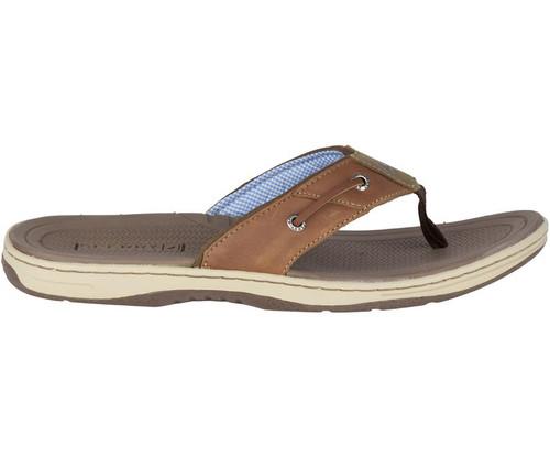 SPERRY 1048719 Baitfish Flip-Flops - Tan - Side
