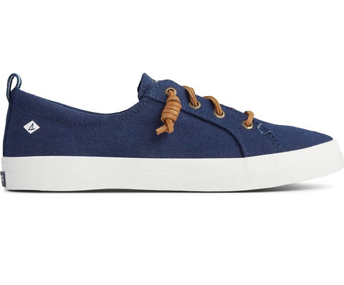 SPERRY STS98642 Womens Crest Vibe Sneaker Navy - Side