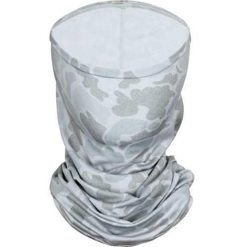 Marsh Wear MWSM05 Mallard Face Mask Grey Camo - Front