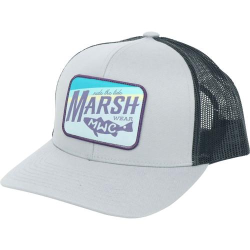 Marsh Wear MWC1036 Sunset Marsh Hat Cloud Grey - Angled