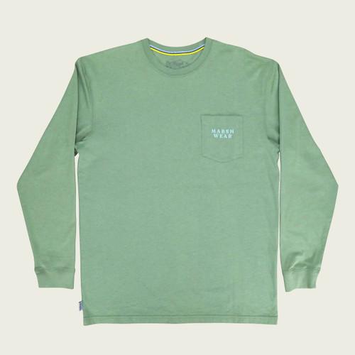 Marsh Wear MWT2019 Trout LS T-Shirt Loden - Front