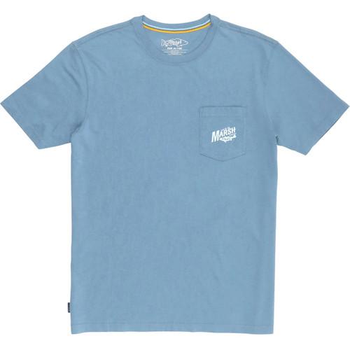 Marsh Wear MWT1057 Sunrise Marsh SS T-Shirt SlateBlue - Front