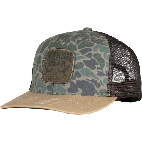 Marsh Wear MWC1022 Daffy Trucker Cap GreenCamo - Angle