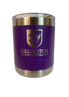 Killington Cup Logo YETI Rambler 10oz Lowball
