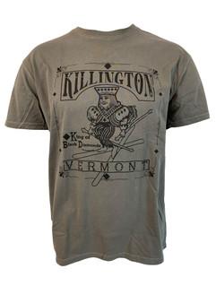Killington Logo King Of Black Diamonds T-Shirt