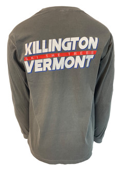 Killington Logo Ski The Trees Long Sleeve Tee