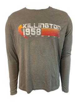 Killington Logo 80's Gradient Long Sleeve Tee