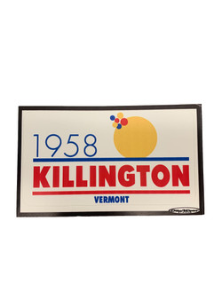 Killington Logo 1958 Sticker
