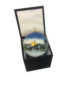 Killington Logo Hand Painted Glass Ornaments
