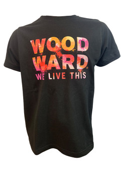 """Woodward """"We Live This"""" Logo Youth T-Shirt"""