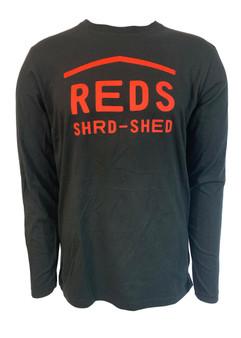 Woodward Red's VT Logo Long Sleeve Tee