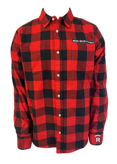 Woodward Red's Logo Flannel