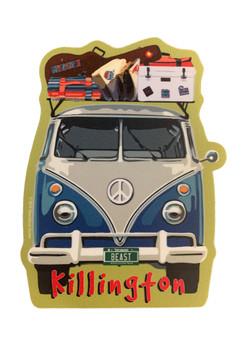 Killington Logo Bus Sticker