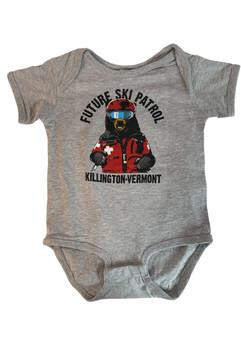 Killington Logo Ski Patrol Baby Onesie