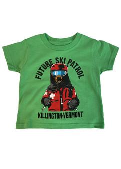 Killington Logo Toddler Ski Patrol T-Shirt