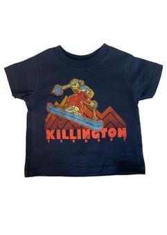 Killington Logo Toddler Skiing Elmo T-Shirt