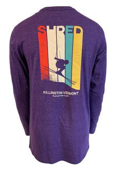 Killington Logo Vintage Skier Long Sleeve Tee