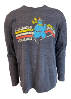 Killington Logo Cookie Monster Long Sleeve Tee