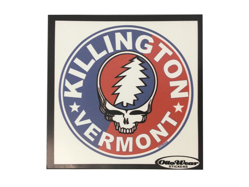 Killington Logo Skull Sticker