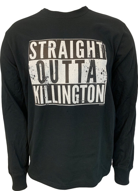 "Killington Logo ""Straight Outta Killington"" Long Sleeve Tee"