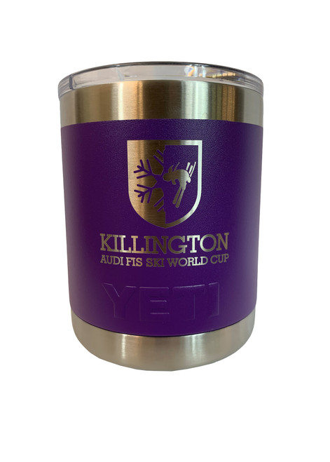 Killington Cup Logo YETI Rambler 10oz Lowball