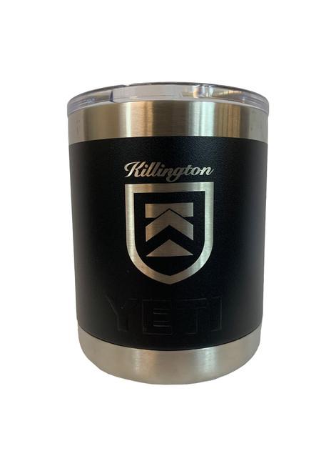Killington Logo YETI Rambler 10oz Lowball
