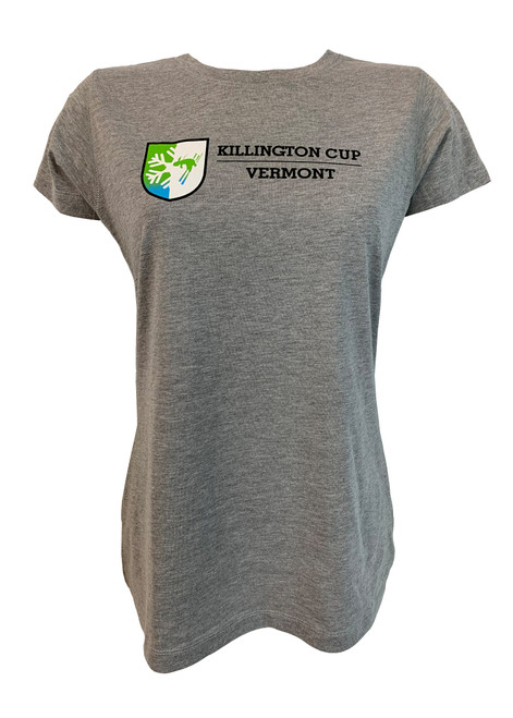 Killington Cup Logo Women's Essential Crew T-Shirt (50% OFF)