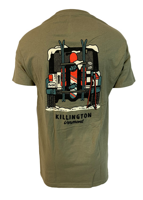 Killington Logo Winter Ski Trek T-Shirt