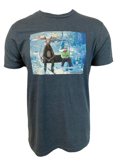 Killington Logo Chairlift Moose T-Shirt