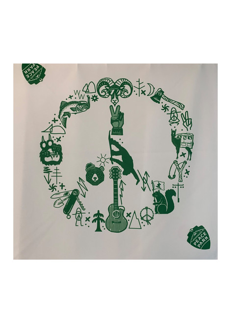 Woodward Peace Park Logo Bandana
