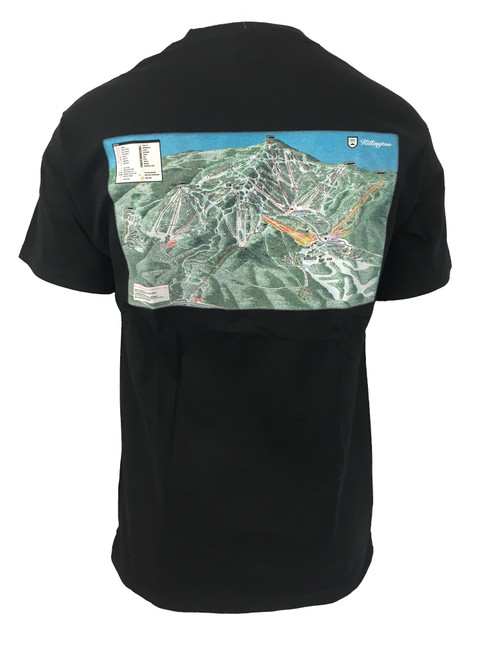 Killington Logo Trail Map T-Shirt