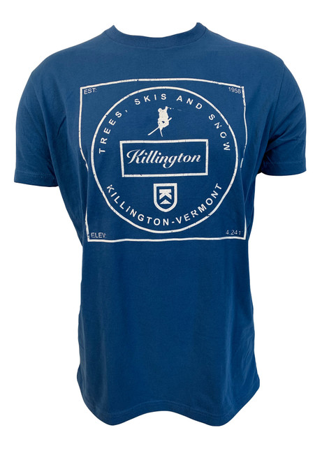 Kilington Logo Trees & Skis T-Shirt
