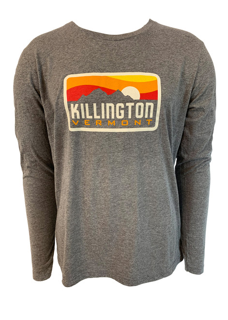Killington Logo Tri-Blend Long Sleeve Tee
