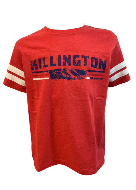 Killington Logo Youth Football Jersey T-Shirt