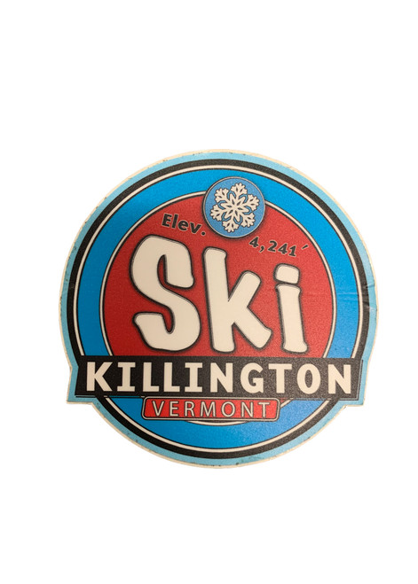 Killington Logo Ski Sticker