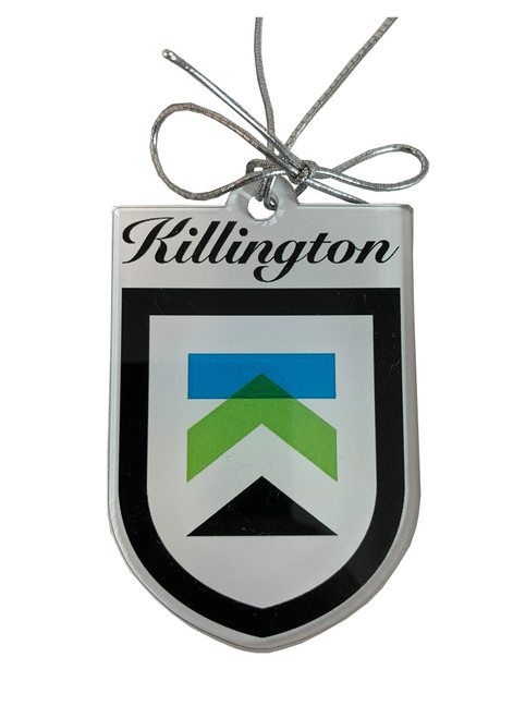 Killington Logo Shield Ornament